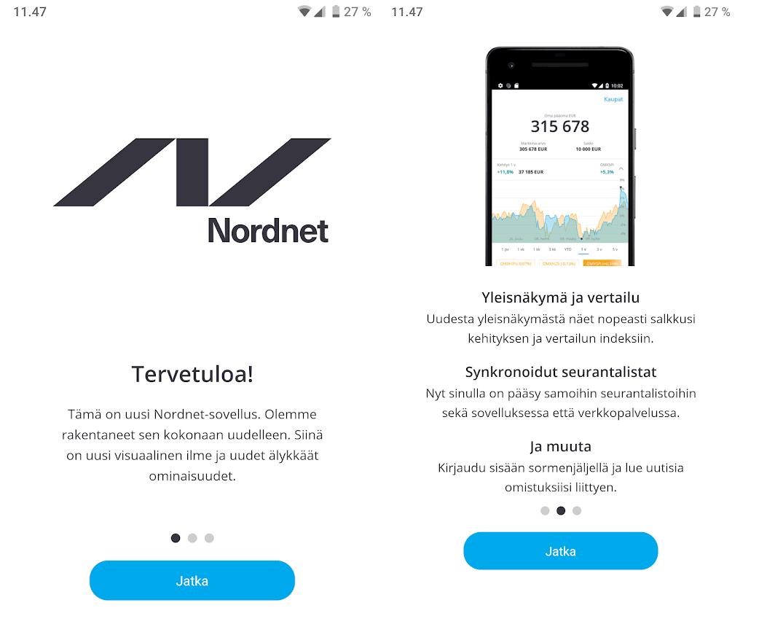 nordnet mobiilisovellus tervetuloauusi Nordnetin uusi mobiilisovellus   hitti vai huti?