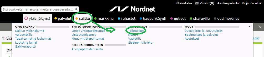talletusnordnet Näin aloitat sijoittamisen Nordnetissä vuonna 2019