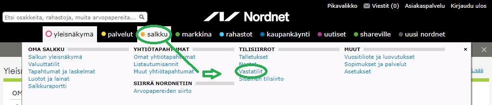 vastatilinilmoittaminen Näin aloitat sijoittamisen Nordnetissä vuonna 2019