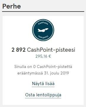 Talouteni CashPoint Pisteet Bank Norwegian Bank Norwegian   Matkailevan ihmisen luottokortti